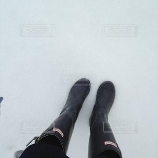 足のペアの写真・画像素材[1807017]