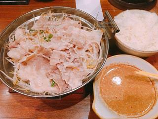 食べ物,屋内,皿,米,食,豚肉,食欲,ゴマだれ