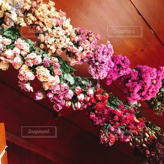 インテリア,ピンク,花束,フラワー,ドライフラワー,天井,ピンク色,pink,フォトジェニック
