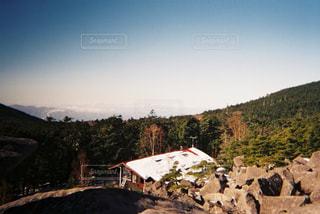 自然,冬,雪,屋外,山,景色,登山,癒し,フィルム,山小屋,フィルム写真,雪解け,フィルムフォト,暖冬