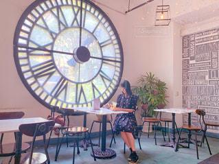 お洒落なベトナムのカフェの写真・画像素材[2260637]
