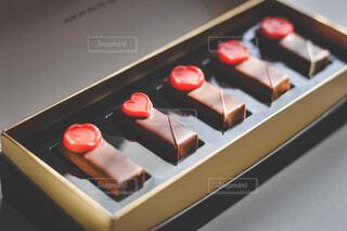贅沢なハートチョコの写真・画像素材[4153022]