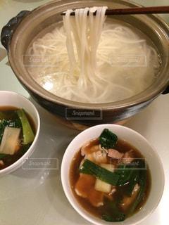 うどんすき鍋の写真・画像素材[1700140]