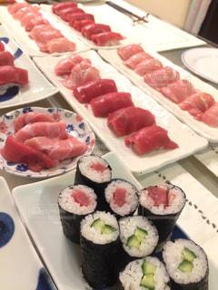 お正月はお寿司の写真・画像素材[1727375]