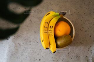 食べ物,イラスト,オレンジ,フルーツ,果物,バナナ,リンゴ,フルーツ盛り,PR,DoleBananaSmile