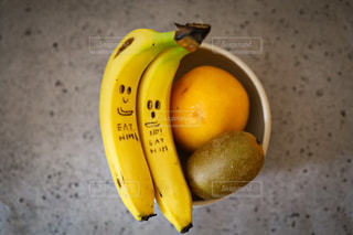 食べ物,屋内,イラスト,オレンジ,フルーツ,果物,レモン,スカッシュ,バナナ,リンゴ,フルーツ盛り,PR,DoleBananaSmile