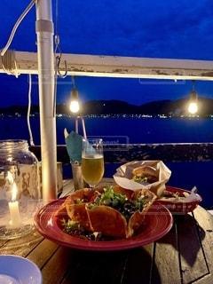 海からディナーの写真・画像素材[2736217]