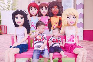 ピンク,子供,赤ちゃん,レゴランド,pink,3歳,イベント・行事