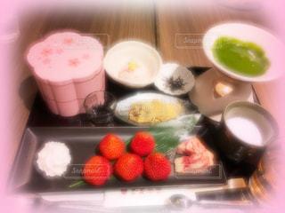 大須カフェ、インスタ映え、あまおう、抹茶