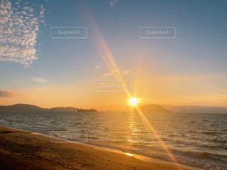 海,太陽,島,夕陽,sunset,福岡,sea