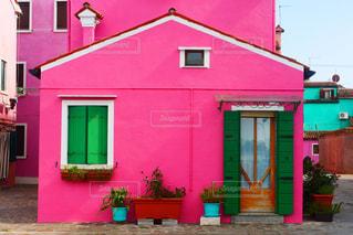 ベネチアのおしゃれな家の写真・画像素材[1440451]