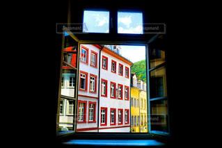 カフェ,建物,海外,カラフル,窓,ヨーロッパ,ドイツ,海外旅行,建築,旧市街,ハイデルベルク,ヨーロッパ旅行
