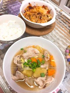 カラフル,料理,うちごはん,豚汁,秋の味覚,サツマイモ,食欲の秋