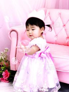 ドレス,シャボン玉,ピンク色,お姫様,スタジオ