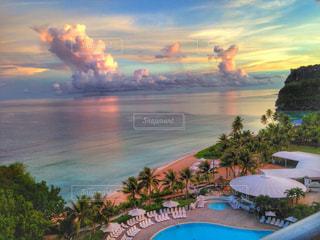 風景,海,ビーチ,観光,旅行,グアム,海外旅行