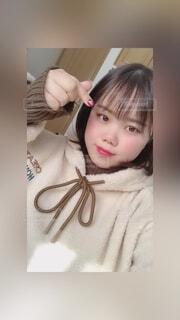 可愛い韓国のお洋服を購入の写真・画像素材[3871200]