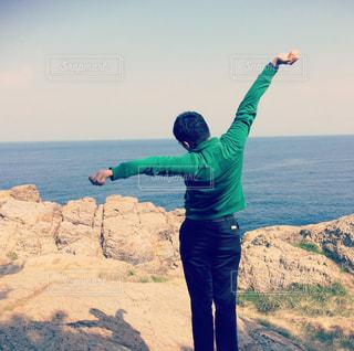 自然,風景,海,空,青空,景色,眺め