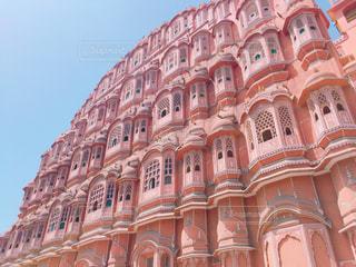 ピンク,インド,ピンク色,歴史的建造物,ジャイプール,マハラジャ,風の宮殿,ピンクシティ,パワーマハル