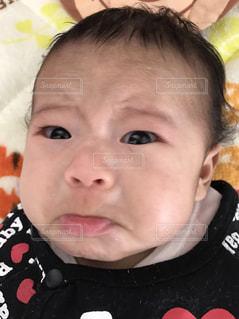 可愛い泣き顔の写真・画像素材[1789360]