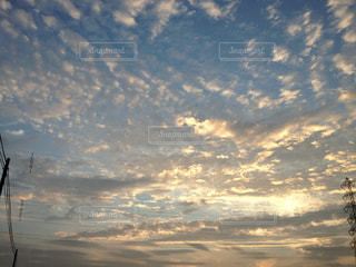 空の雲の写真・画像素材[1860600]