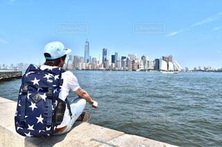 ニューヨークと私の写真・画像素材[4576747]