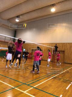室内,床,ボール,体育館,バレーボール,ミックス,ユニフォーム,プライベート,バレー,volleyball,混合
