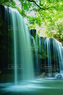水の流れの写真・画像素材[1449306]