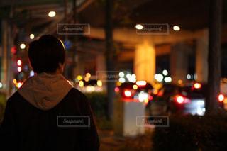 男性,冬,夜,大阪,男,玉ボケ,夜の街