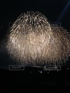空に花火の写真・画像素材[1454673]