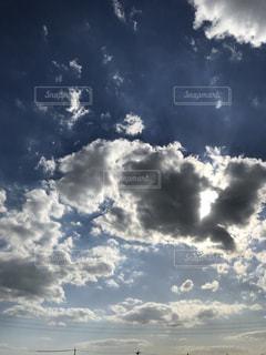 空,秋,雲,晴れ,青空,外,日中