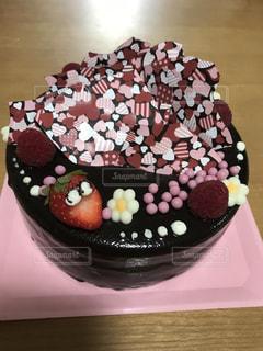 ケーキ,いちご,誕生日,チョコ,バースデー,チョコムース,バースディケーキ