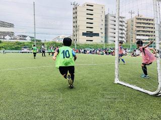 サッカー,未来,男の子,夢,ポジティブ,可能性