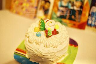 Christmas cakeの写真・画像素材[1668398]