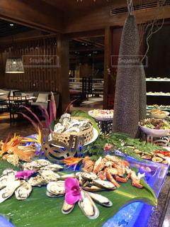 食べる,タイ,カキ,生牡蠣,食欲