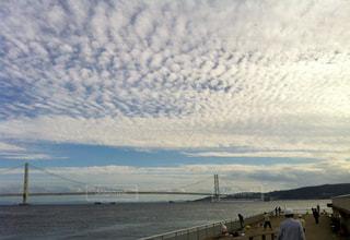 空,屋外,雲,夕暮れ,海岸,鮮やか,色・表現