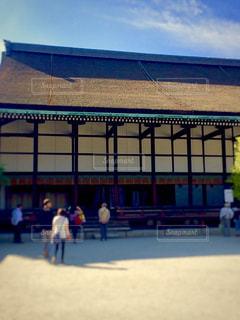 京都御所、清涼殿の写真・画像素材[1683079]