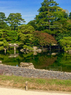 京都御所、御池庭の写真・画像素材[1683143]