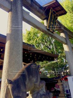 護王神社の鳥居の写真・画像素材[1683161]