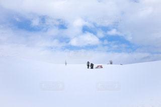雪に覆われた斜面 - No.888443
