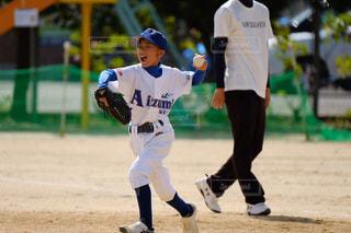 野球少年の写真・画像素材[1567176]