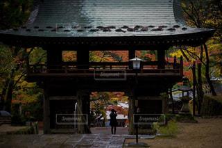 大窪寺の紅葉の写真・画像素材[1618496]