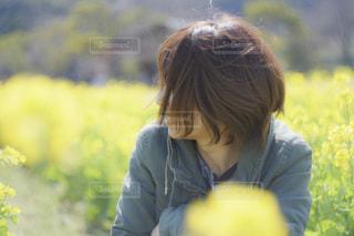 女性,風景,公園,春,黄色,菜の花,人物,人,幸せ,イエロー,菜の花畑,徳島県,yellow,鳴門市