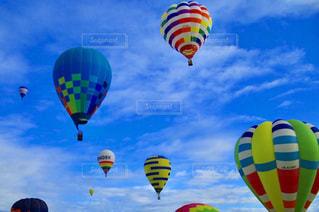風景,秋,雲,綺麗,青空,気球,秋空,バルーンフェスティバル,スカイフェスとなみ2018
