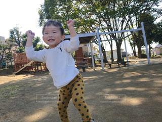 空,秋,元気,笑顔,赤ちゃん,秋空,ポジティブ