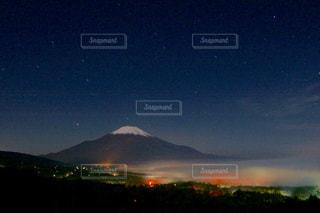 秋,富士山,景色,秋空