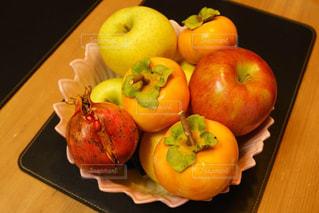 食べ物,秋,テーブル,果物,りんご,柿,ザクロ