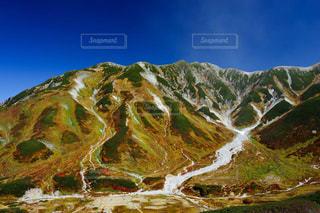 立山室堂平の鮮やかな紅葉の写真・画像素材[1608856]
