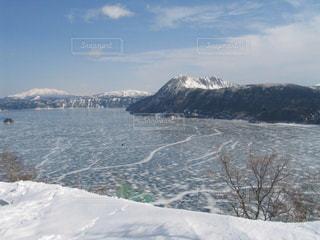 自然,風景,空,木,雪,湖,白,雲,雪山,北海道,山,景色,美しい,旅行,ホワイト,阿寒湖,フォトジェニック,インスタ映え