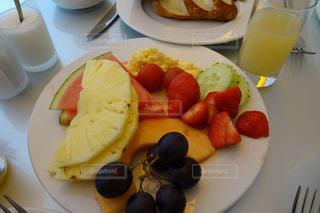 朝食,スイカ,鮮やか,フルーツ,果物,皿,パイナップル,ドイツ,新鮮,フレッシュ,イチゴ,ぶどう,バイキング,フォトジェニック,インスタ映え