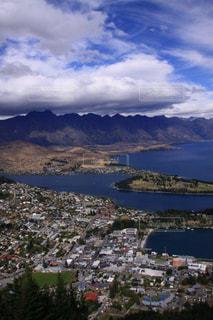美しいニュージーランドクイーンズタウンの景色の写真・画像素材[1780889]